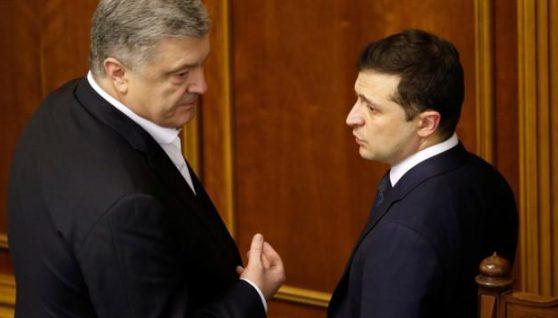 """Зеленський заявив, що не готовий співпрацювати з """"олігархом Порошенком"""""""