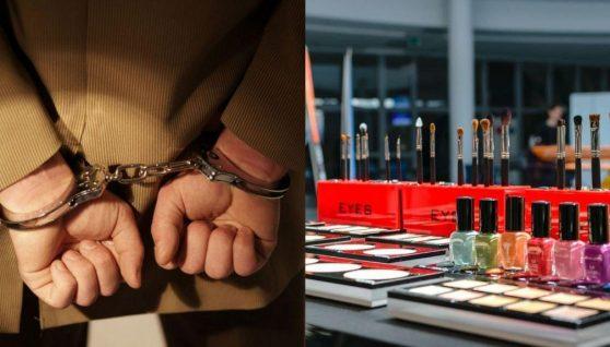 Українця в італії заарештували за крадіжку косметики на 100 тисяч € і зберігання зброї