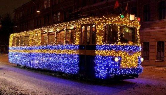 У Житомирі на католицьке Різдво курсуватиме музичний святковий трамвай. ГРАФІК РУХУ