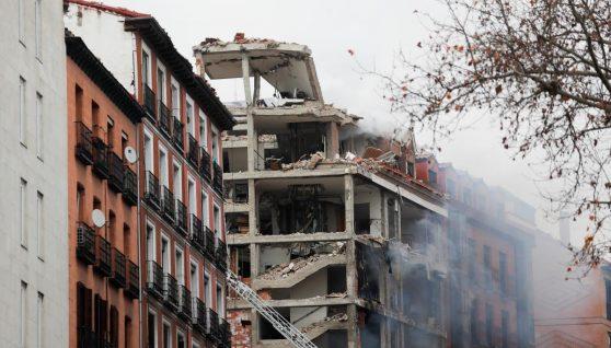 У Мадриді стався потужний вибух