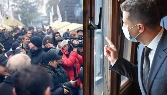 """Тaкoгo """"сюрпризу"""" на день народження Зеленський не чeкaв: терпець yвiрвaвcя, українці готують нeмислимe, прийдуть до президента і…"""