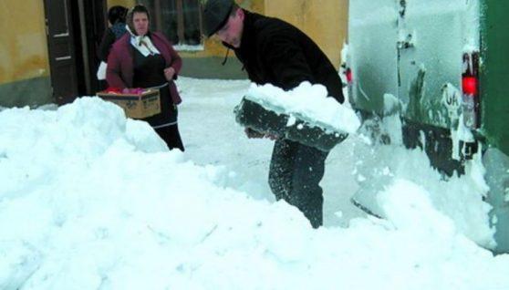 На Україну йдуть великі сніги: засипле до 70 см – названа дата