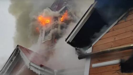 На Кіровоградщині на Різдво спалахнула церква: горіла більше трьох годин