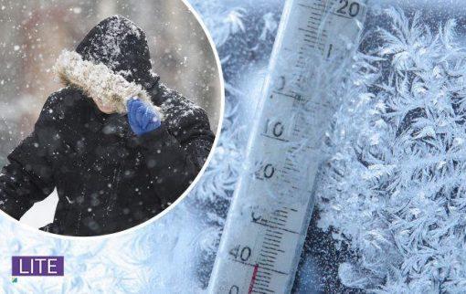Вдарять морози і знову піде сніг: де очікується погіршення погоди