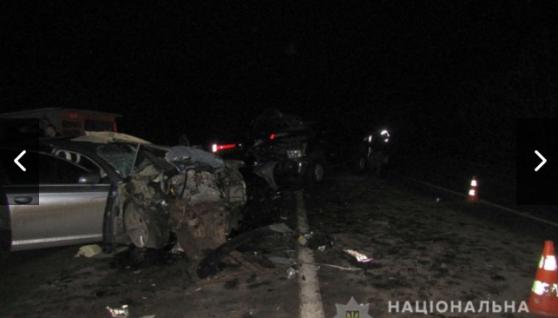 У Запорізькій області зіткнулися два автомобілі, є жертви