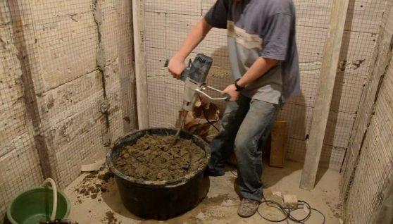 Хлопцю відірвало ногу міксером для бетону