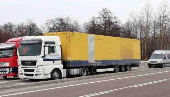 У Польщі затримали волинянина, який не мав права кермувати вантажівкою (фото)