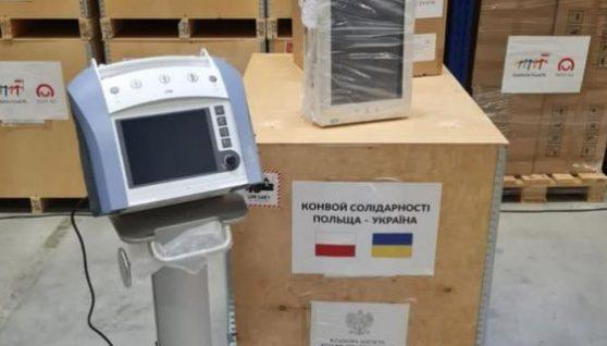 Уряд Польщі передав Україні 650 тисяч доз вакцини AstraZeneca