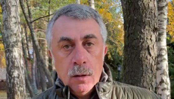 """""""Місця є на кладовищі"""": Комаровський розповів, що може статися з нещепленими українцями (ВІДЕО)"""