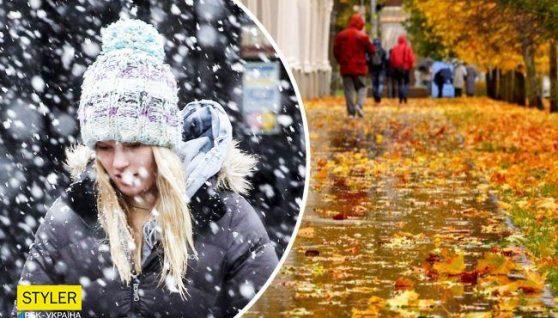 Штормовий вітер і до 20 градусів тепла: після короткого потепління прийде мокрий сніг